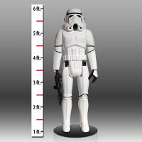 Life Size Star Wars Stormtrooper Action Figure