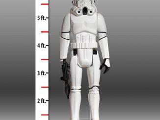 Life Size Star Wars Stormtrooper Action Figure