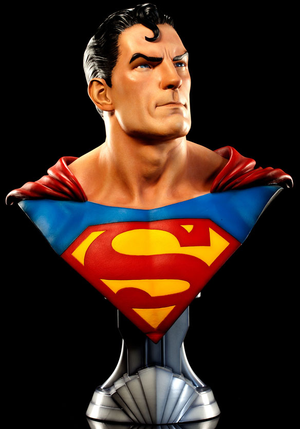 Life-Size Superman Bust