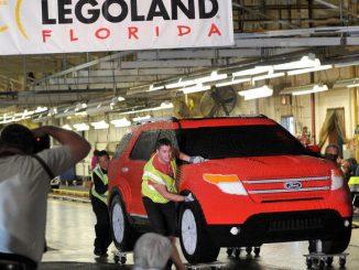 Life-Sized LEGO Ford Explorer