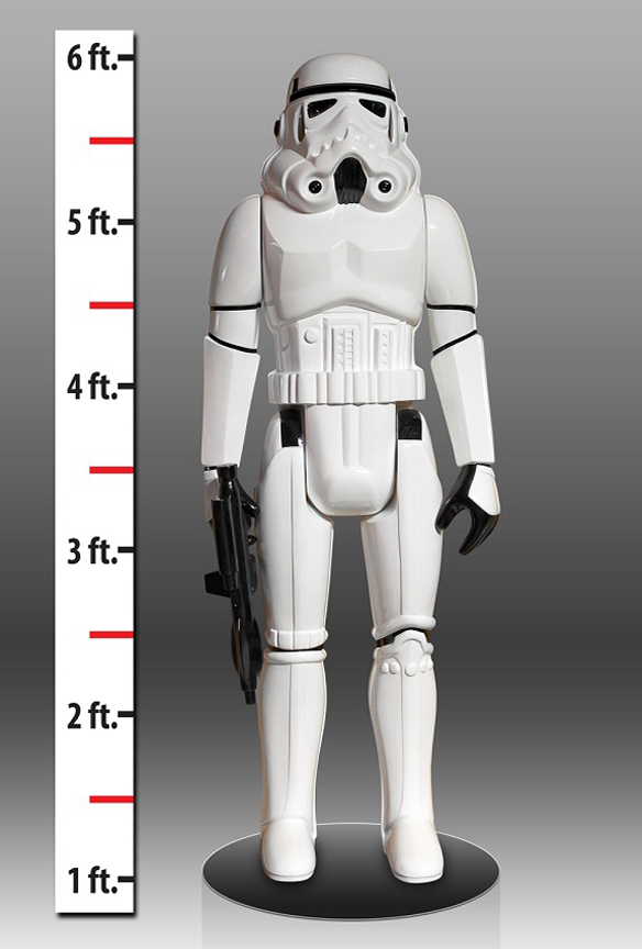 Life Sized Star Wars Stormtrooper Action Figure