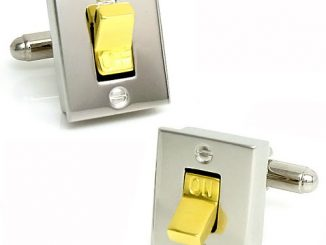 Light Switch Cufflinks