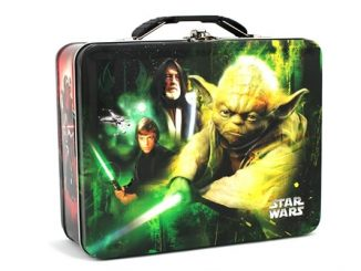 Light and Dark Sides of the Force Star Wars Tin Lunch Box