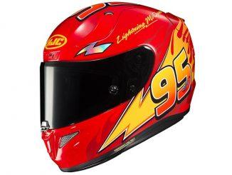 Lightning McQueen Motorcycle Helmet