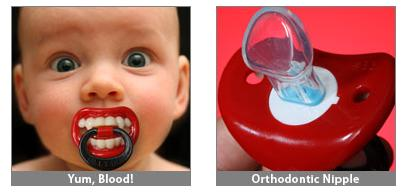 Lil' Vampire Baby Pacifier