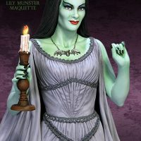 Lily Munster Maquette Detail
