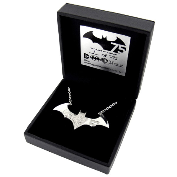Limited Edition Batman 75th Anniversary Necklace