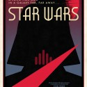 Limited Edition Designer Star Wars Movie Poster