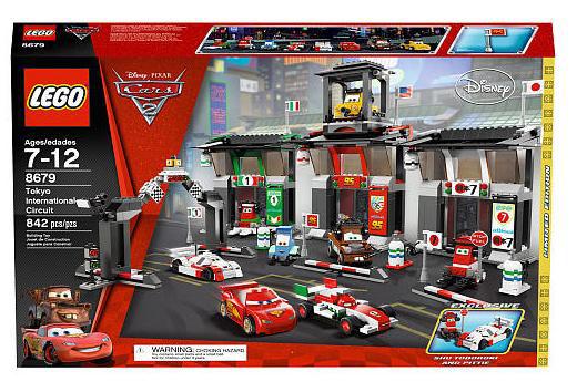 Limited Edition LEGO Disney Pixar Cars 2 Movie Tokyo International Circuit set