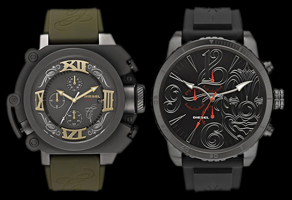 Limited Edition Mister Cartoon Diesel Watches
