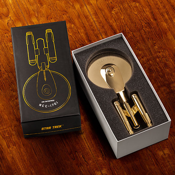 Limited Edition Star Trek Pizza Cutter