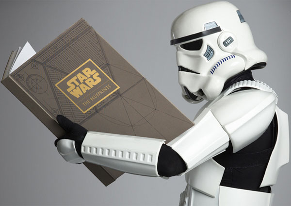 Limited Edition Star Wars Blueprints Book
