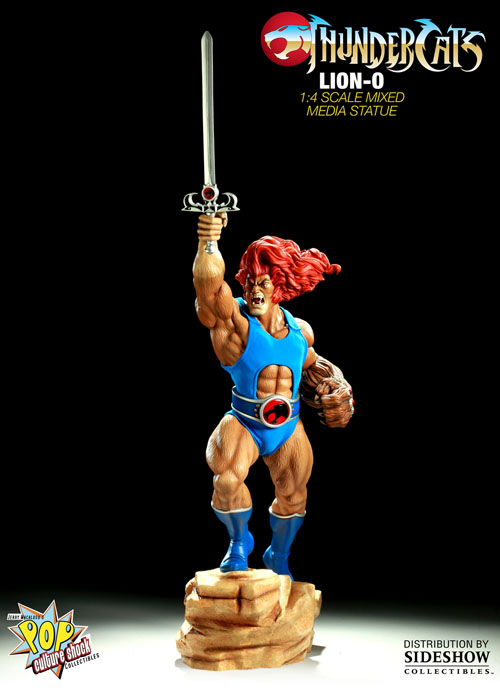 Lion-O Thundercats Mixed Media Statue