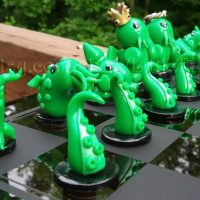 Little Fat Cthulhu Chess Set