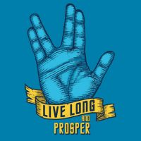 Live Long and Prosper Shirt