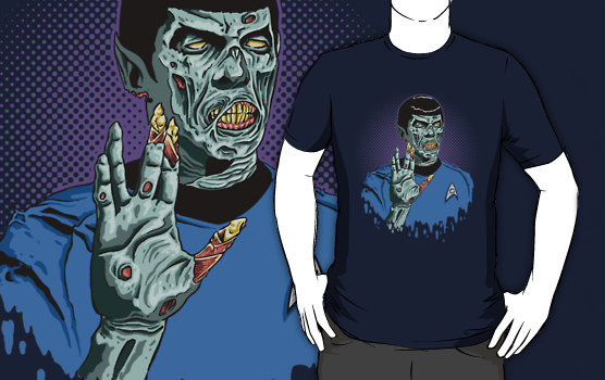 Live Long and... Brains!! T-Shirt
