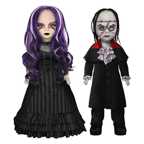 Living Dead Dolls Beauty and the Beast Set
