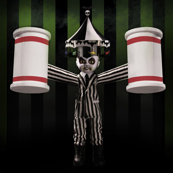 Living Dead Dolls Showtime Beetlejuice Doll
