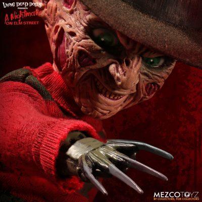 Living Dead Dolls - A Nightmare On Elm Street Talking Freddy Krueger
