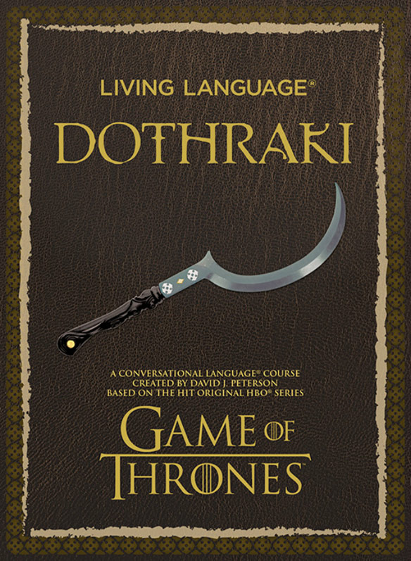 Living Language Dothraki Paperback