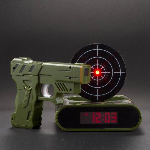 Lock N' load target alarm clock/Gun alarm clock