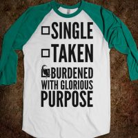 Loki Burdened with Glorious Purpose T-Shirt