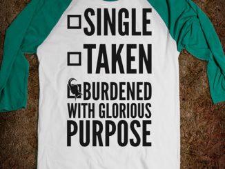 Loki Burdened with Glorious Purpose T-Shirt