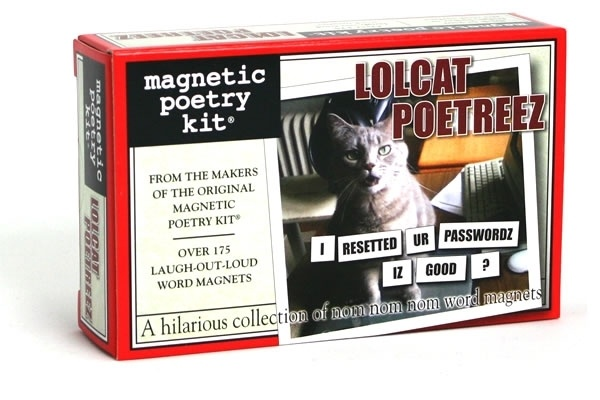 Lolcat Poetreez - Magnetic Poetry