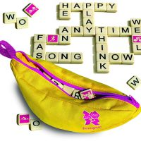 London Olympics 2012 Bananagrams Game