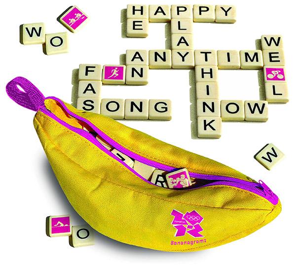 London Olympics 2012 Bananagrams Game