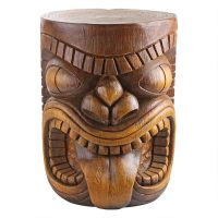 Lono Grand Tiki Sculptural Table