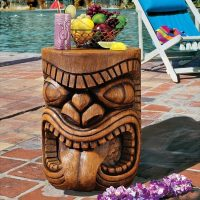 Lono Tongue Grand Tiki Sculptural Table