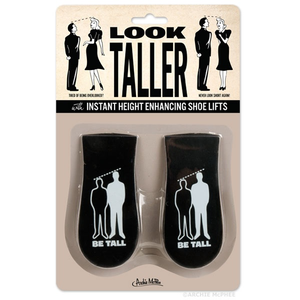 Look Taller Shoe Lifts