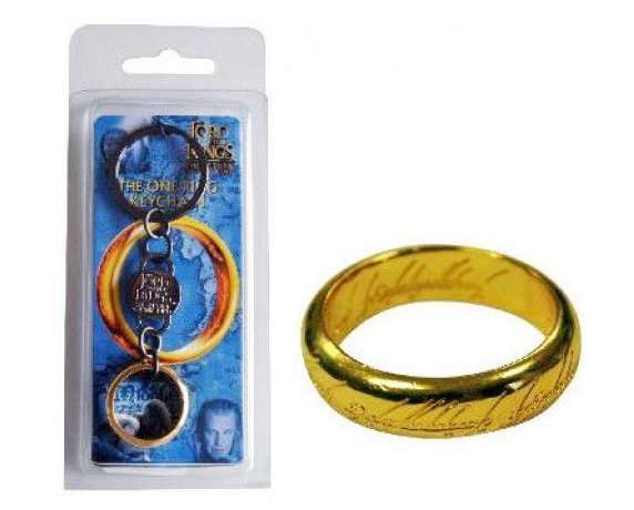 Lord Of The Rings Keychain: The One Ring