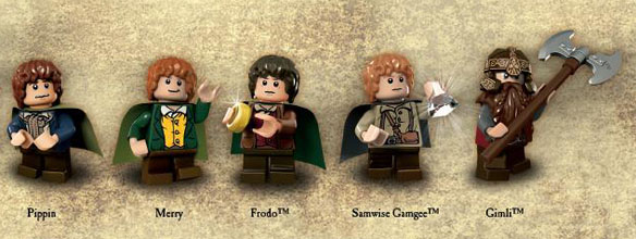 Lord of The Rings LEGO Minifigures