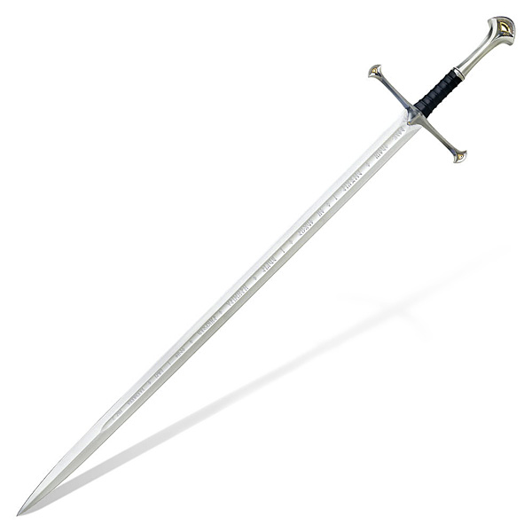Lord of the Rings Anduril Flame of the West Prop Replica