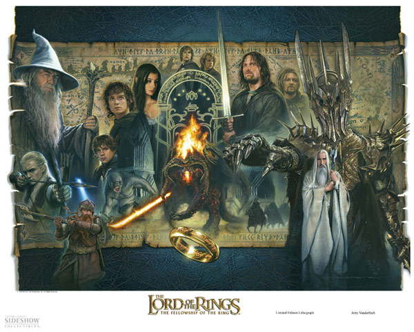 Lord-of-the-Rings-Lithograph-Fine-Art-Print