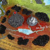 Lord of the Rings Map of Middle Earth 3D Puzzle
