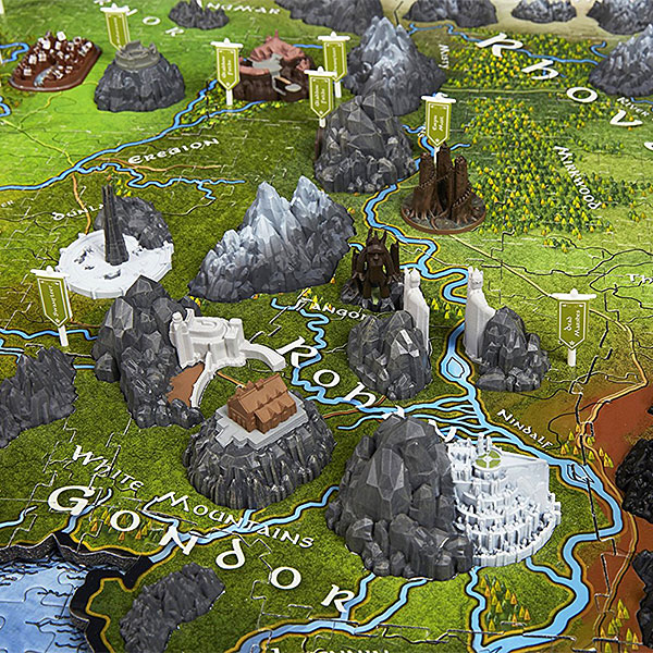 Of the rings map of middle earth 3d puzzle lord of the rings map of middle earth 3d puzzle gumiabroncs Image collections