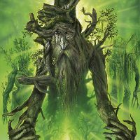 Lord of the Rings Treebeard Painting