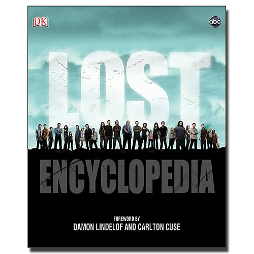 Lost Encyclopedia Hardcover Book