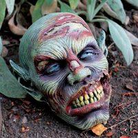 Lost Zombie Head Statue
