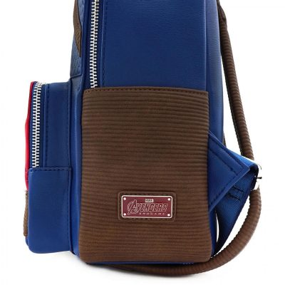 Loungefly Captain America Worthy Endgame Hero Mini Backpack