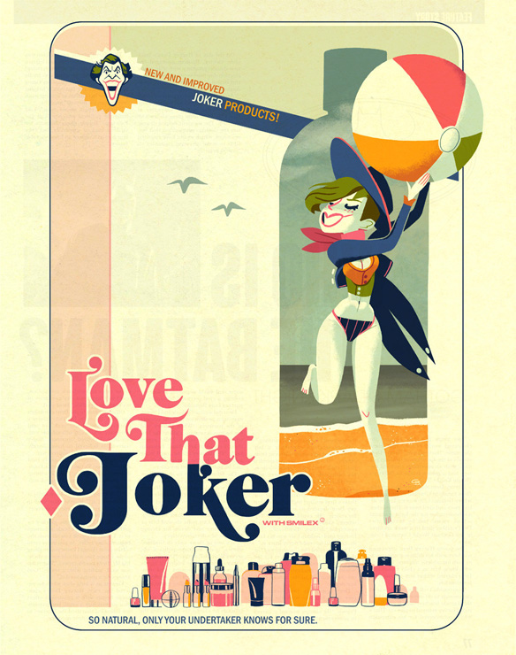 Love That Joker Art Print