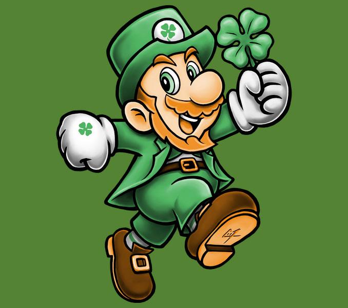 Lucky Mario T-Shirt