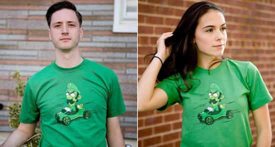 Luigi Death Stare T Shirt