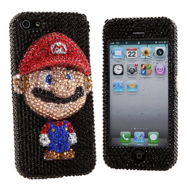 Luxury Bling Mario iPhone 5 Case