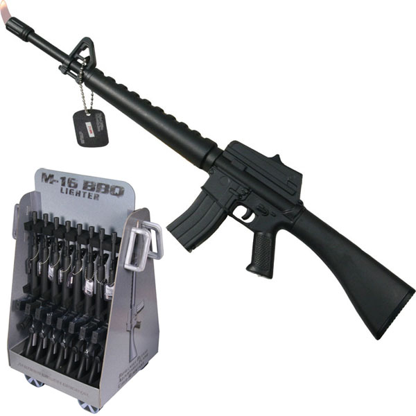 M-16 Rifle BBQ Lighter