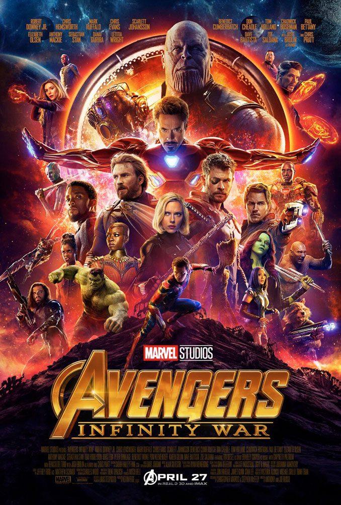 MCU Infinity War Poster