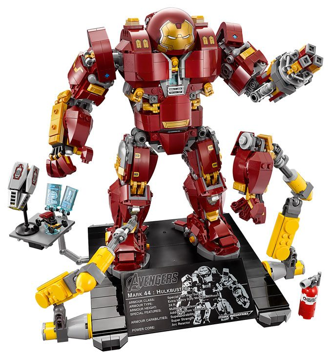 MCU LEGO Hulkbuster Ultron Edition 76105 Set